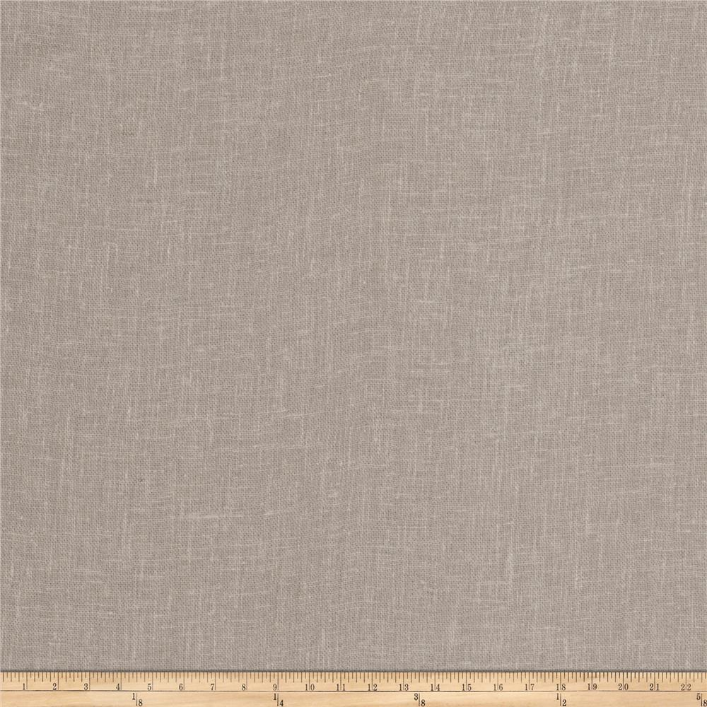 Fabricut Loyola Crinkle Linen Blend Taupe