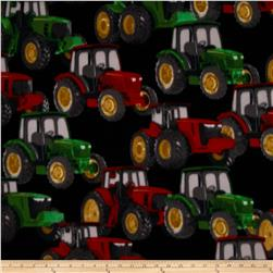 Winter Fleece Tractors Black