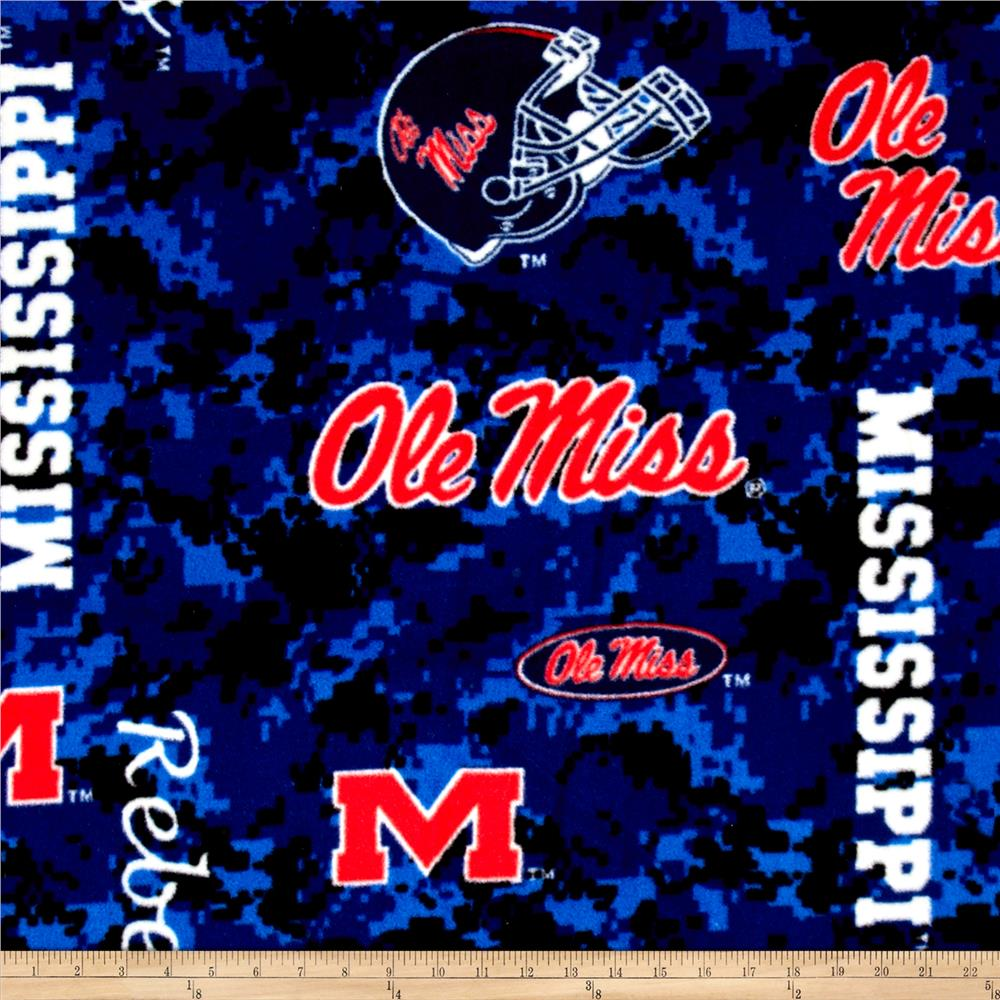 Collegiate Fleece University of Mississippi Digital