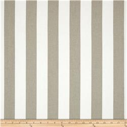 Premier Prints Canopy Stripe Ecru Fabric