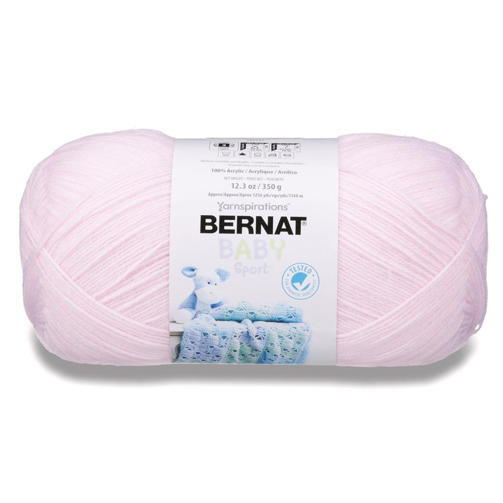 Bernat Big Ball Baby Yarn Baby Pink