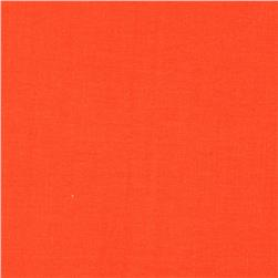 Cotton Supreme Solids Mandarin