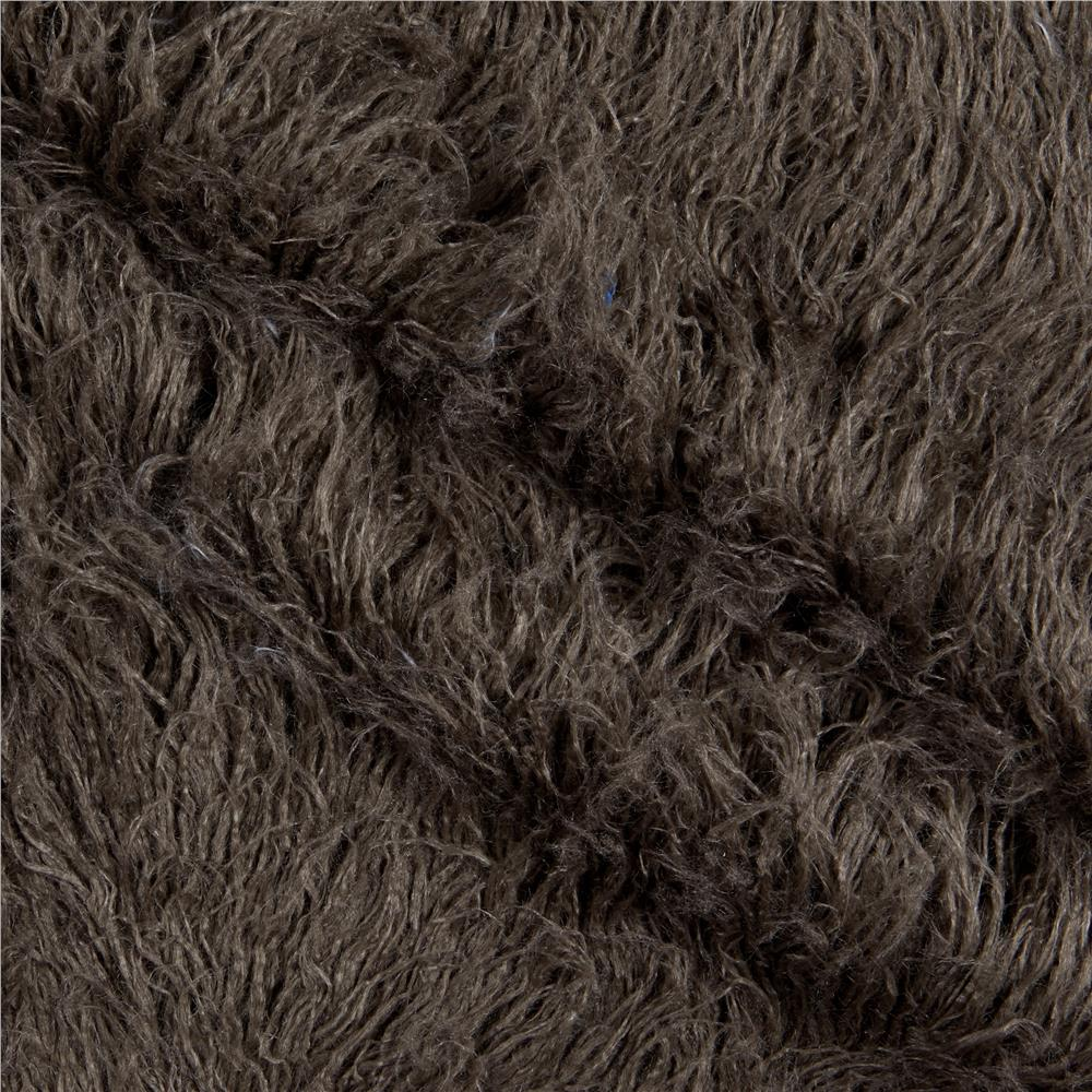 Alpaca Faux Fur Pewter