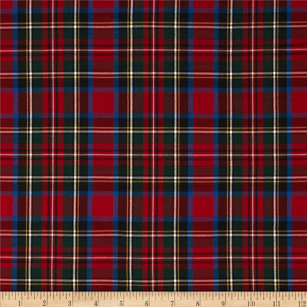 Kaufman House of Wales Plaid Multi Fabric