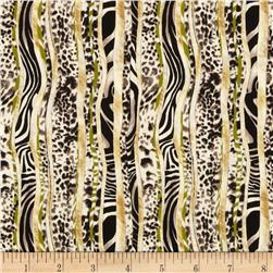 Jungle Party Multi Skin Stripe Multi/Cream