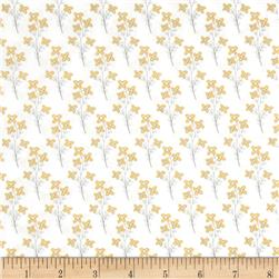 Vintage Sunshine Mini Floral White