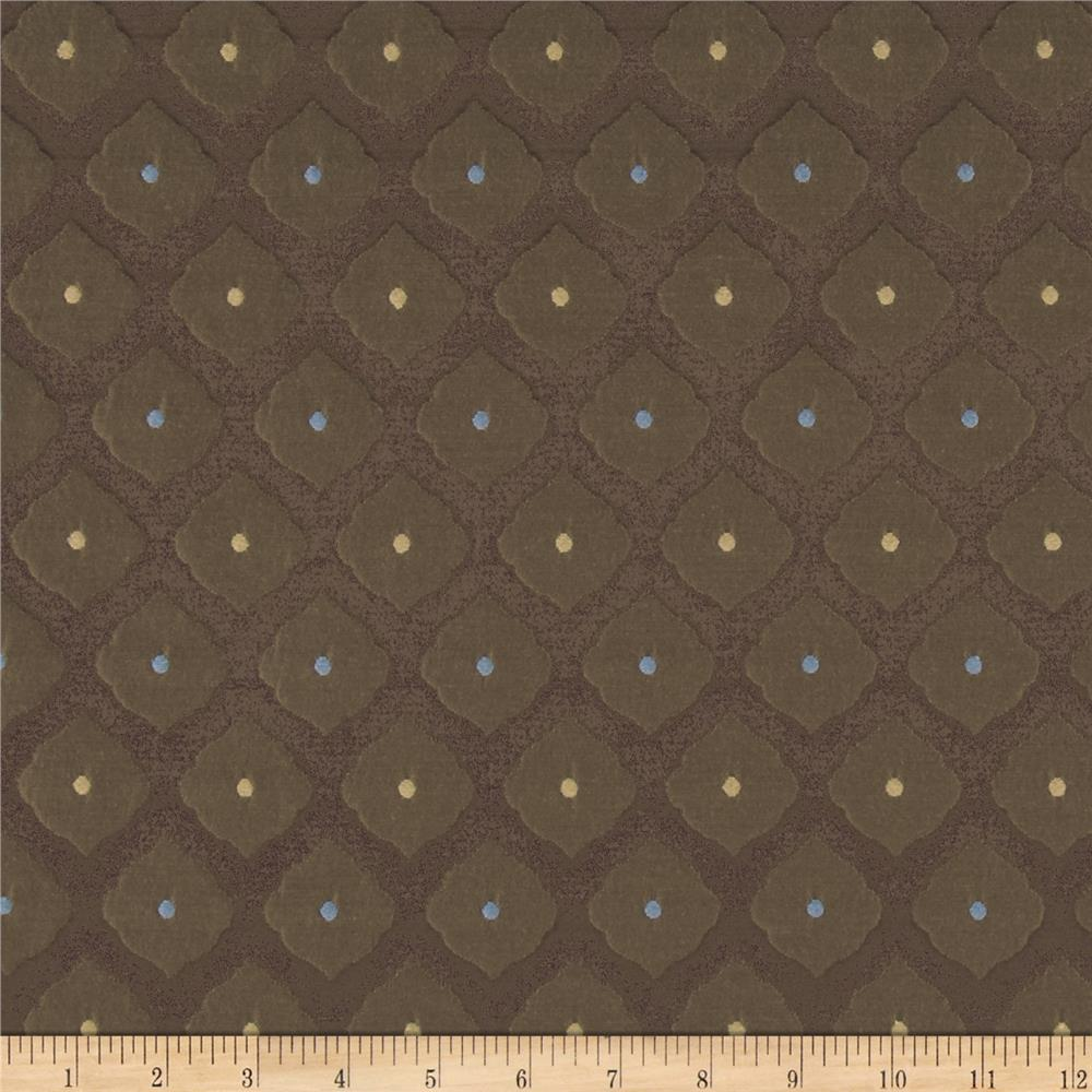 Richloom Dude Jacquard Chocolate