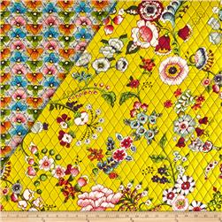 Alexander Henry Double Sided Quilted Bella Strada Fabrizia Bright