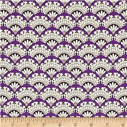 Jasmine Fan Floral Purple
