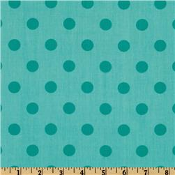 Moda 108'' Dottie Quilt Backing Tonal Aqua Fabric