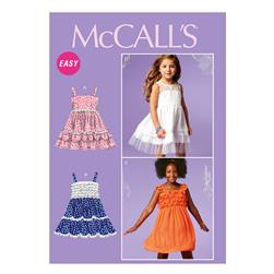 McCall's Girls/Girls' Dresses Pattern M6685 Size CCE