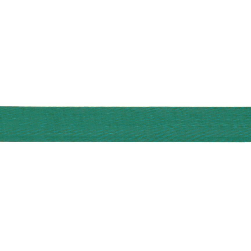 1'' Sheer Organza Ribbon Green