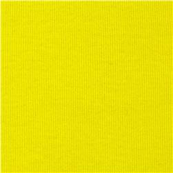 T-Knit Ribbing Yellow