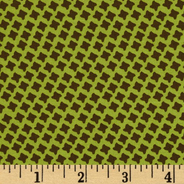 Chelsea Crosshatch Green