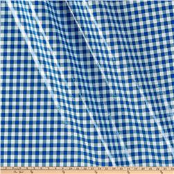 Oilcloth Gingham Blue