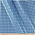 Oil Cloth Gingham Blue