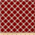 My Precious Quilt Plaid Red