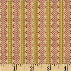 Le Petit Fleurette Chainette Stripe Wheat
