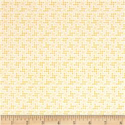 Penny Rose Shabby Strawberry Houndstooth Cream