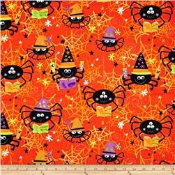 Kanvas Spooktacular Spider Spells Orange