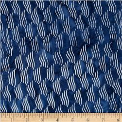 Timeless Treasures Tonga Batiks Breeze Waves Ocean