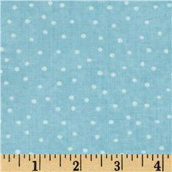 Up and Away Dinky Dots Aqua