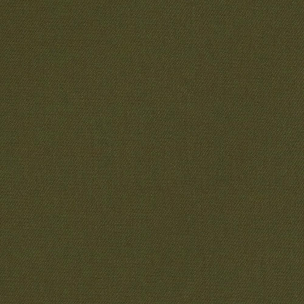 Bella Poly/Cotton Twill Dark Olive Green