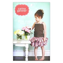 Carina Gardner Little Miss Girls Suntop & Skirt Pattern