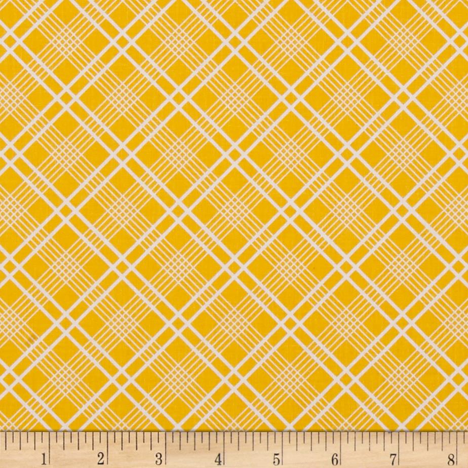 Penny Rose Gingham Girls Plaid Yellow