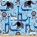 Michael Miller Safari Friends Safari Friends Blue