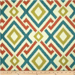 Swavelle/Mill Creek Honshu Diamonds Chenille Jacquard Tropical