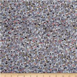 Liberty of London Pointillism Lawn Lavender/Grey