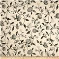 Waverly Nassau Vine Toile Onyx