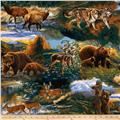 Nature Studies Animals Collage Brown