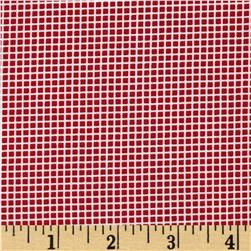 Robert Kaufman Penny's Dollhouse Gingham Red