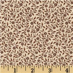 Edith Mini Floral Brown