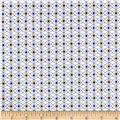 Cotton + Steel Rotary Club Facets Periwinkle