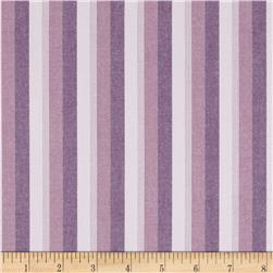 Kaufman Classic Threads Large Stripe Sorbet