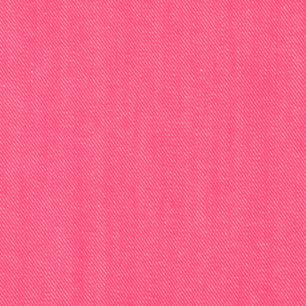 Bondi Denim Bright Pink Discount Designer Fabric