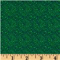 Windham Spring Bloom Mini Dot  Green