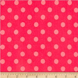 Avalana Jersey Knit Dot Pink
