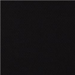 Poly Nylon Performance Pique Knit Black Fabric