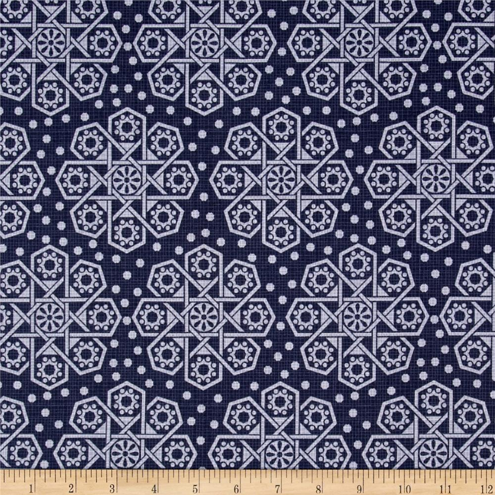 The Alchemy Collection Medallions Indigo