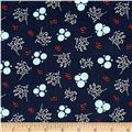 Happy Thoughts Rosettes Dark Blue