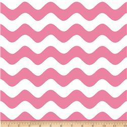 Riley Blake Wave Pink