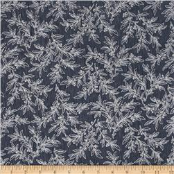 Snowy Peak Metallic Mistletoe Pewter/Silver