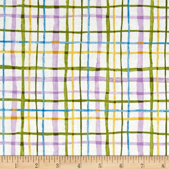 Fancy Free Window Pane Violet/Multi