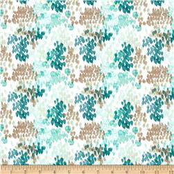 Flora Fields Teal Multi