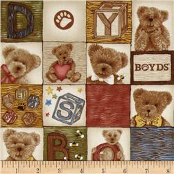 Boyds Bears Bear Blocks Multi