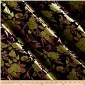 Chinese Brocade Lime Floral/Pink